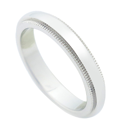 Tiffany(티파니) PT950 (플래티늄) 밀그레인 3MM 반지-7호 [압구정매장]