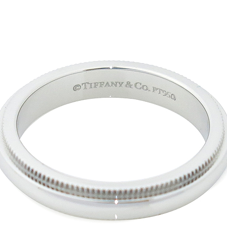 Tiffany(티파니) PT950 (플래티늄) 밀그레인 3MM 반지-7호 [압구정매장] 이미지4 - 고이비토 중고명품