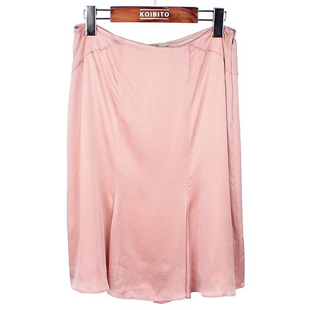 Blumarine(블루마린) 핑크컬러 실크 스커트