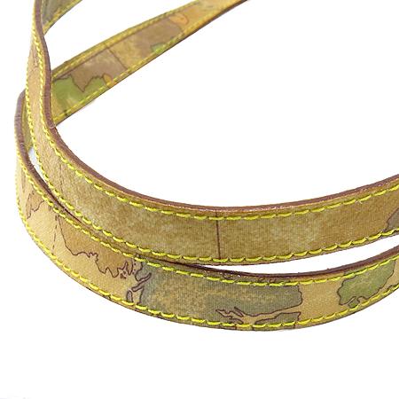 ALVIERO MARTINI(알비에로 마르티니) 레오파드 에나멜 금장 로고 장식 쇼퍼 숄더백 [인천점]