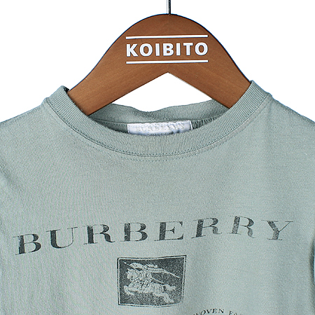 Burberry(버버리) 아동용 민트컬러 반팔 티