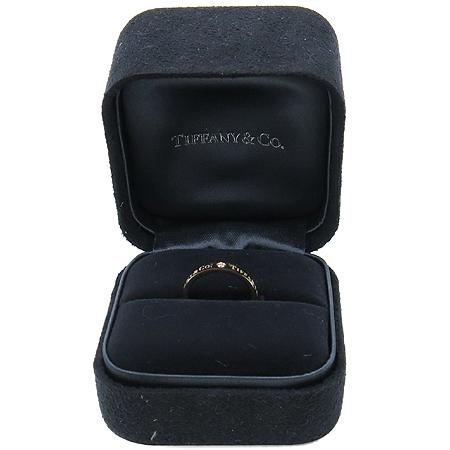 Tiffany(티파니) 18K(750) 핑크골드 TIFFANY & CO. 3포인트 다이아 반지 - 9 호
