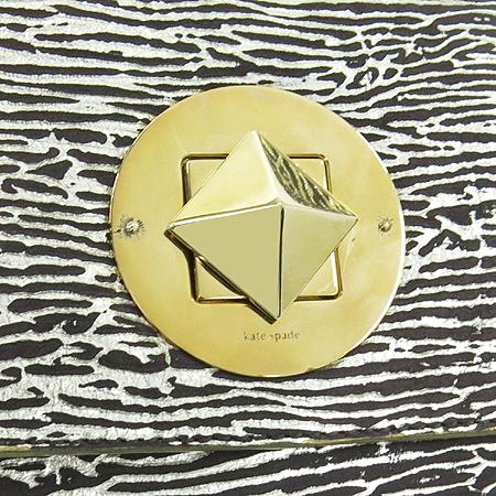 KATESPADE (케이트 스페이드) 금장 버클 골드 브론즈 숄더백 이미지5 - 고이비토 중고명품
