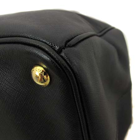 Prada(프라다) BN1802 블랙 사피아노 럭스 토트백 [부천 현대점]