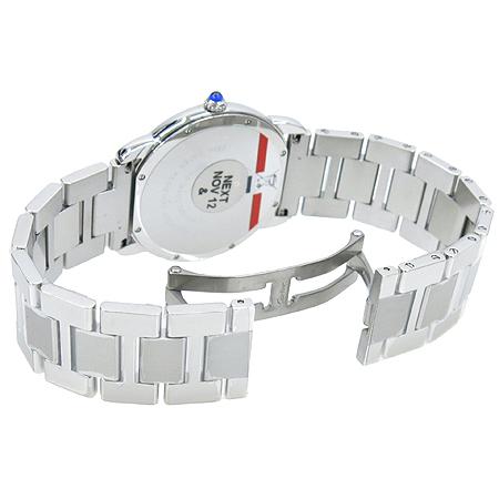 Cartier(까르띠에) W6701005 롱드 솔로 스틸 쿼츠 남성용 시계 [명동매장]