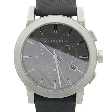 Burberry(버버리) BU9359 크로노그래프 가죽밴드 남성용 시계 [압구정매장] 이미지2 - 고이비토 중고명품