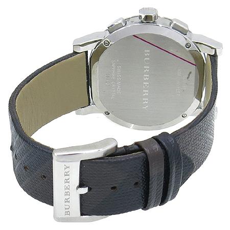 Burberry(버버리) BU9359 크로노그래프 가죽밴드 남성용 시계 [압구정매장] 이미지4 - 고이비토 중고명품