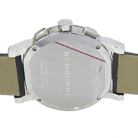 Burberry(버버리) BU9359 크로노그래프 가죽밴드 남성용 시계 [압구정매장] 이미지5 - 고이비토 중고명품