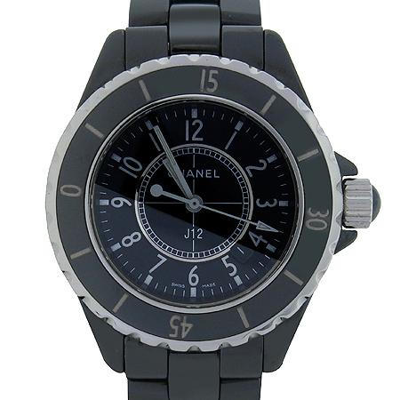 Chanel(샤넬) H0682 J12 쿼츠 블랙 세라믹 33MM 여성용시계