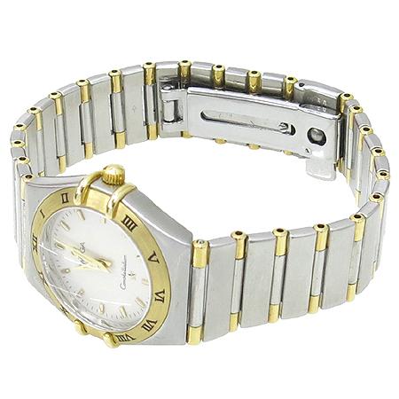Omega(오메가) 1372.30 18K 콤비 컨스트레이션 하프바 여성용 시계 이미지3 - 고이비토 중고명품