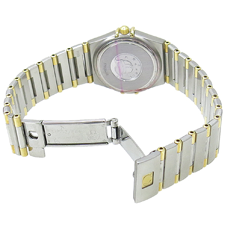 Omega(오메가) 1372.30 18K 콤비 컨스트레이션 하프바 여성용 시계 이미지4 - 고이비토 중고명품