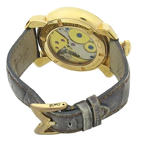 GAGA MILANO(가가 밀라노) 매뉴얼 48MM 금장 가죽밴드 수동 시계