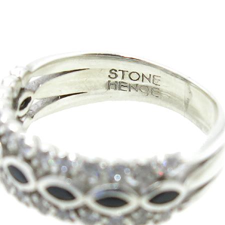 STONE HENGE(스톤헨지) 실버(925) 크리스탈 장식 반지 - 9호
