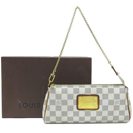 Louis Vuitton(루이비통) N55214 다미에 아주르 캔버스 에바클러치 2WAY
