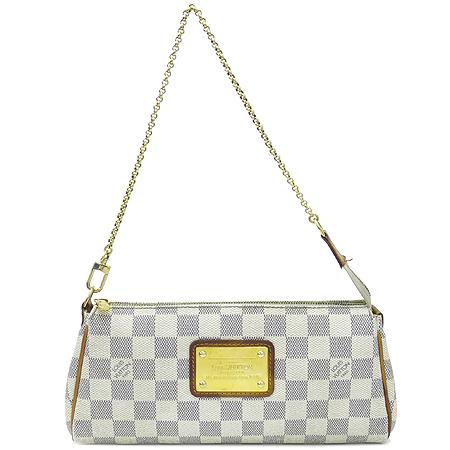 Louis Vuitton(루이비통) N55214 다미에 아주르 캔버스 에바클러치 2WAY 이미지2 - 고이비토 중고명품