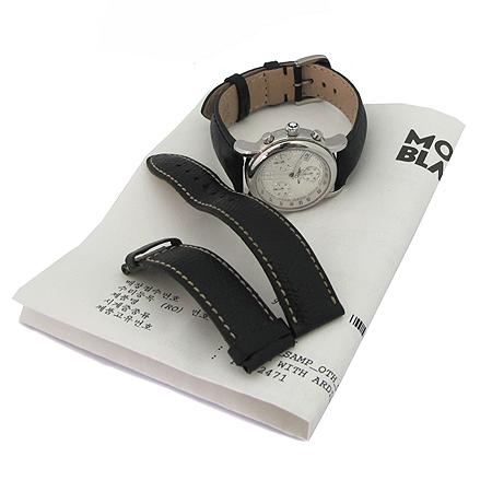 Montblanc(몽블랑) 104147 STAR(스타) 크로노그래프 가죽밴드 여성용 시계 [미아현대매장]