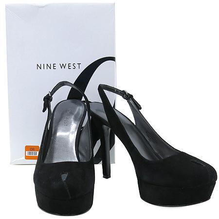 NINE WEST(나인웨스트) 블랙 스웨이드 여성용샌들