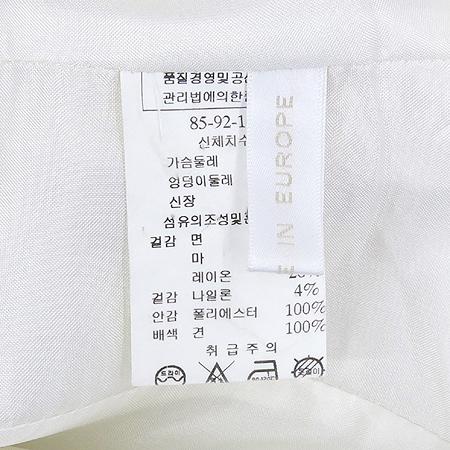 MINIMUM(미니멈) 화이트컬러 마혼방 자켓 (벨트 / 배색:실크100)