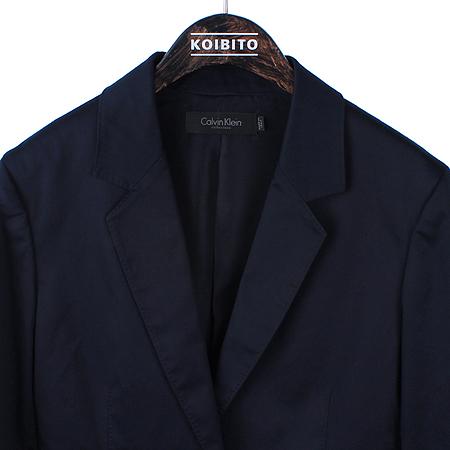 Calvin Klein(캘빈클라인) 네이비컬러 1버튼 자켓 이미지2 - 고이비토 중고명품