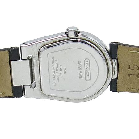 Coach(코치) 14500567 블랙 레더 여성용 시계