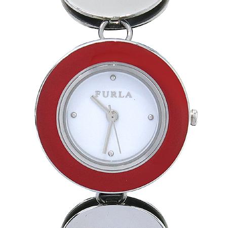 FURLA(훌라) 라운드 스틸 팔찌형 시계