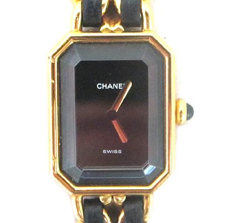 Chanel(샤넬) 프리미에르 L 사이즈 금장 체인 여성용 시계 [분당매장]
