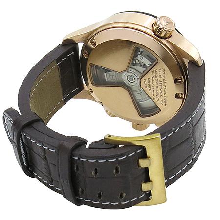Hamilton(해밀턴)  H76646533 Khaki(카키) Aviation(에비에이션) X-COPTER(엑스콥터) 오토매틱 가죽밴드 시계