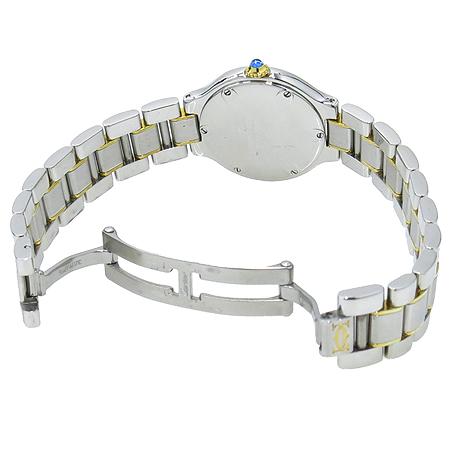 Cartier(까르띠에) W10073R6 21세기 18K 콤비 여성용 시계 이미지3 - 고이비토 중고명품