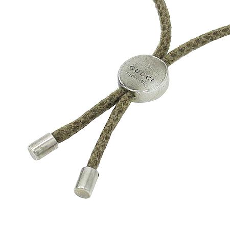 Gucci(구찌) 925(실버) 빈티지 아이콘 끈 팔찌 [압구정매장]