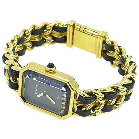 Chanel(샤넬) 프리미에르 M 사이즈 금장 체인 여성용 시계 [명동매장]