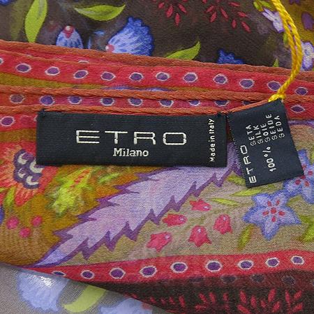 Etro(에트로) 10007 100% 실크 스카프 이미지4 - 고이비토 중고명품