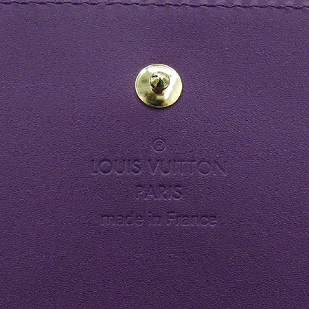 Louis Vuitton(루이비통) M90148 모노그램 베르니 아메티스트 체인 월릿 겸 파우치