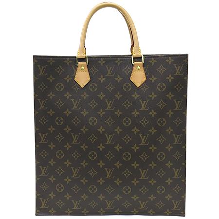 Louis Vuitton(루이비통) M51140 모노그램 캔버스 삭플랫 토트백 [명동매장] 이미지2 - 고이비토 중고명품