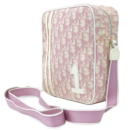 Dior(크리스챤디올) 로고 핑크 PVC 크로스백 이미지3 - 고이비토 중고명품