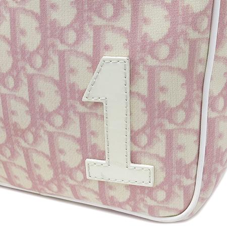 Dior(크리스챤디올) 로고 핑크 PVC 크로스백 이미지4 - 고이비토 중고명품