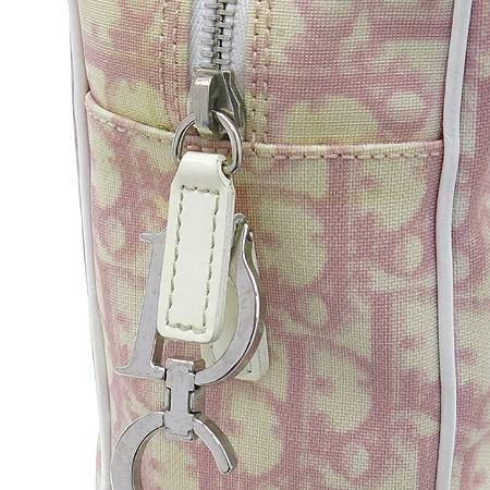 Dior(크리스챤디올) 로고 핑크 PVC 크로스백