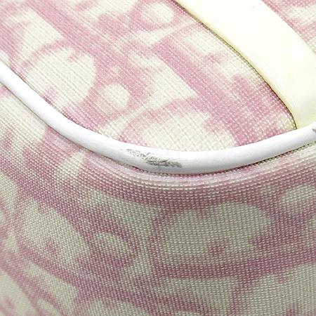 Dior(크리스챤디올) 로고 핑크 PVC 크로스백 이미지6 - 고이비토 중고명품