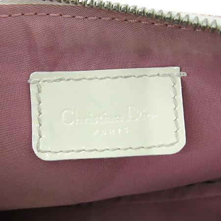 Dior(크리스챤디올) 로고 PVC 새들 파우치 숄더백