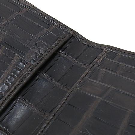 COLOMBO(콜롬보) 2ZA3K3 TM  악어가죽(와니) 아메리카노 남성용 반지갑 [명동매장] 이미지6 - 고이비토 중고명품