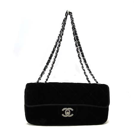 Chanel(샤넬) 클래식 벨벳 S사이즈 은장체인 숄더백 [부천 현대점] 이미지2 - 고이비토 중고명품
