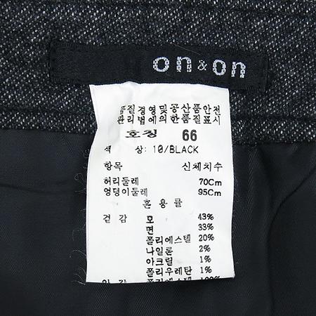 ON&ON(온엔온) 블랙컬러 스커트