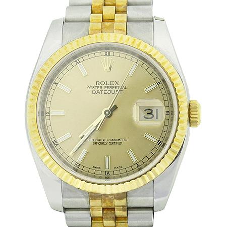 Rolex(로렉스) 116233 DATEJUST(데이저스트) 18K 골드 콤비 남성용시계 이미지2 - 고이비토 중고명품
