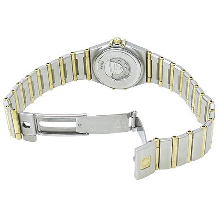 Omega(오메가) 18K 콤비 컨스틸레이션 12포인트 다이아 자개판 풀바 여성용 시계 [명동매장]