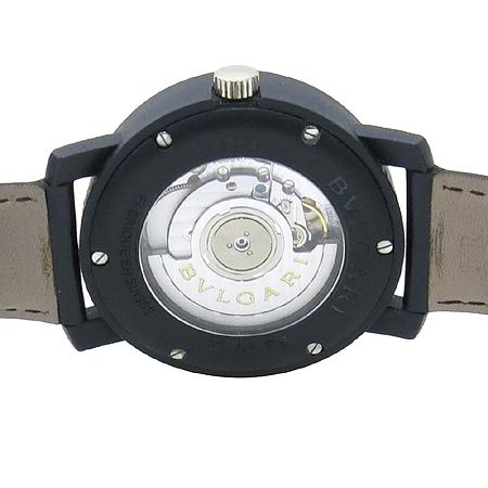 Bvlgari(불가리) BB40CL 카본골드 오토매틱 가죽밴드 남성용 시계 [압구정매장]
