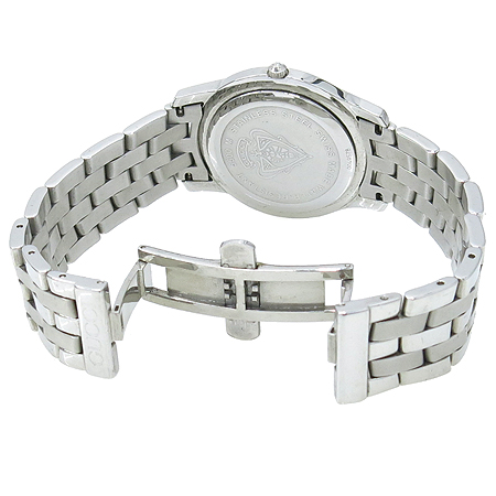 Gucci(구찌) 5500M 라운드 스틸 로마인덱스 데이트 남성용 시계