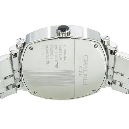 CHAUMET(쇼메) W11670 26A DANDY 오토매틱 블랙판 스틸 남성용 시계 [명동매장]
