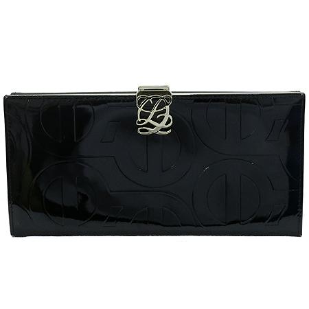 Louis_Quatorze(루이까또즈) 블랙 페이던트 장지갑