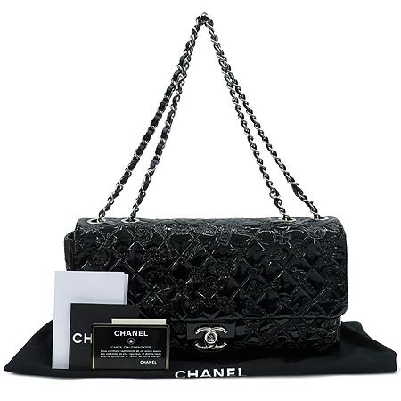 Chanel(샤넬) A49756 블랙 페이던트 SYMBOL CHARM ICON (심볼 참 아이콘) 은장 체인 숄더백 [압구정매장]