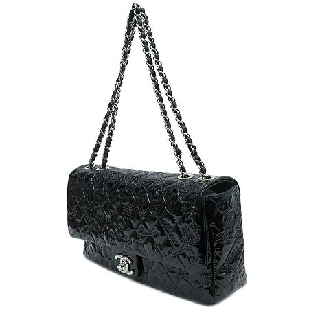 Chanel(샤넬) A49756 블랙 페이던트 SYMBOL CHARM ICON (심볼 참 아이콘) 은장 체인 숄더백 [압구정매장] 이미지3 - 고이비토 중고명품