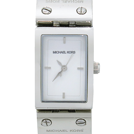 MICHAELKORS(마이클 코어스) MK2129 사각 가죽밴드 여성용 시계